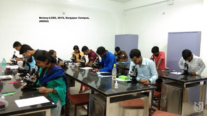 Botany-LCES 2019, Durgapur Campus.